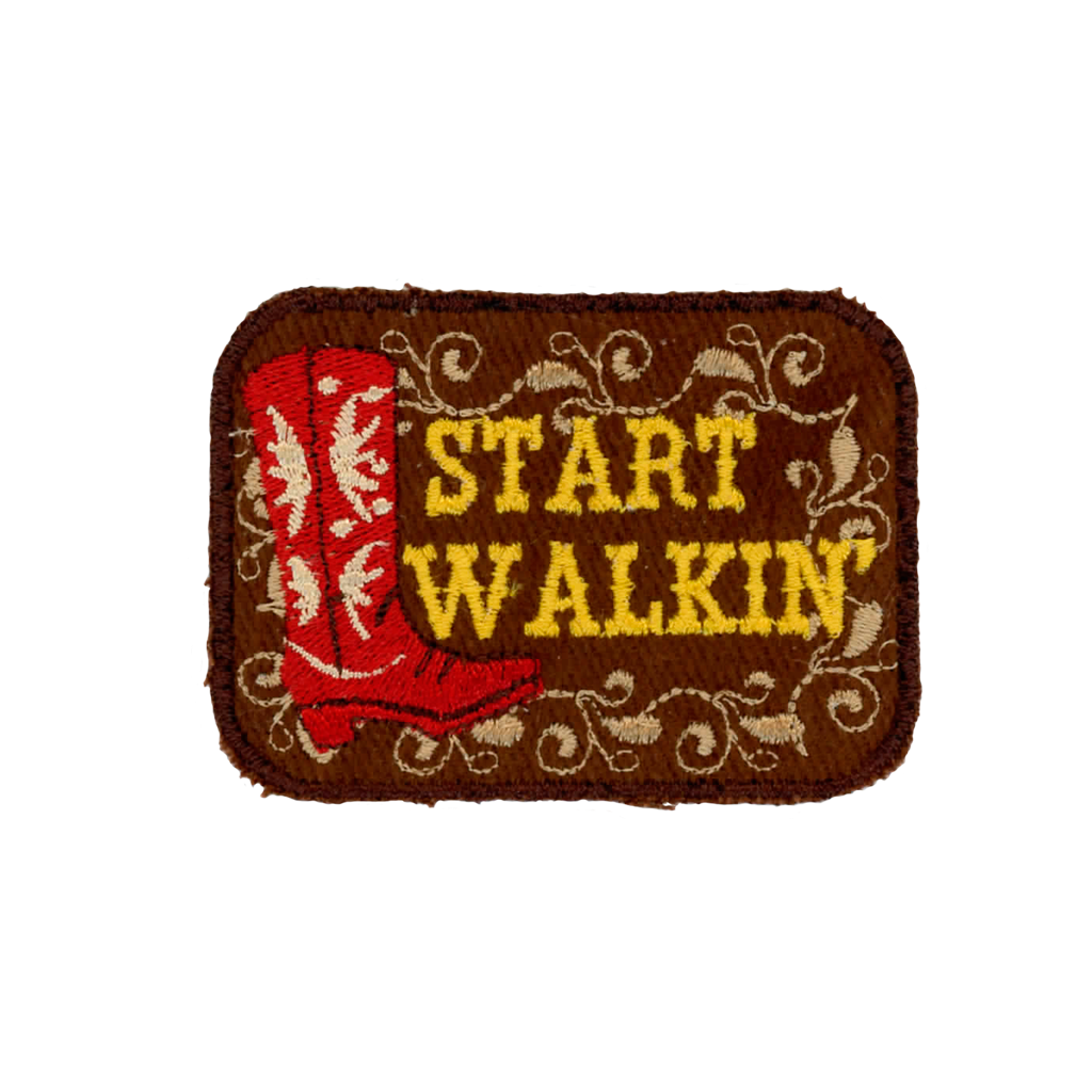 Start Walkin' Patch