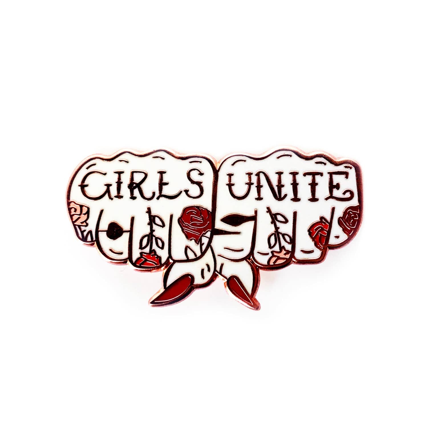 Girls Unite Pin