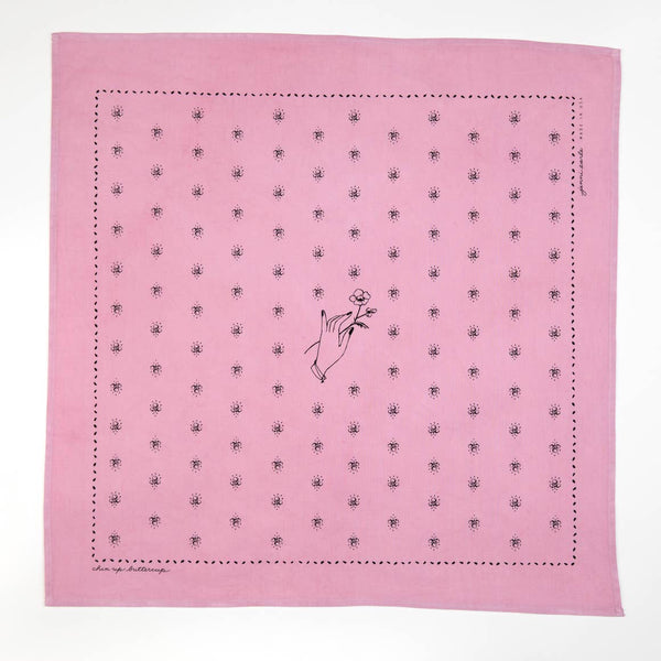 """Chin up buttercup"" Bandana"