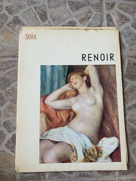 "Vintage Skira ""Renoir: Masterpieces of French Painting"" Art-Book"
