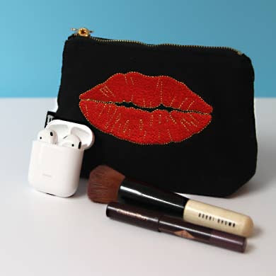 Ruby Lips Pouch - Small