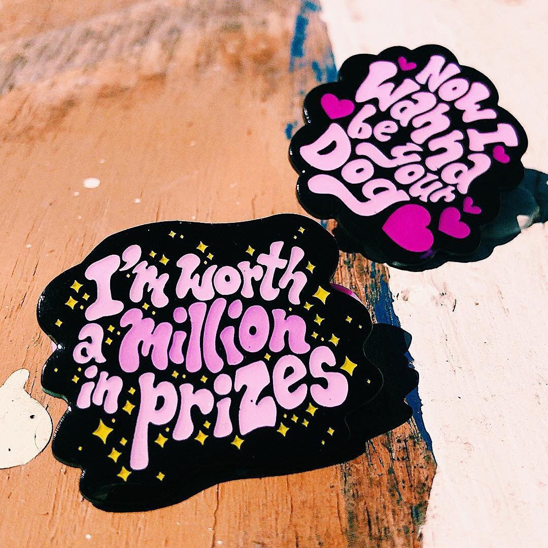 I'm Worth A Million In Prizes Pin