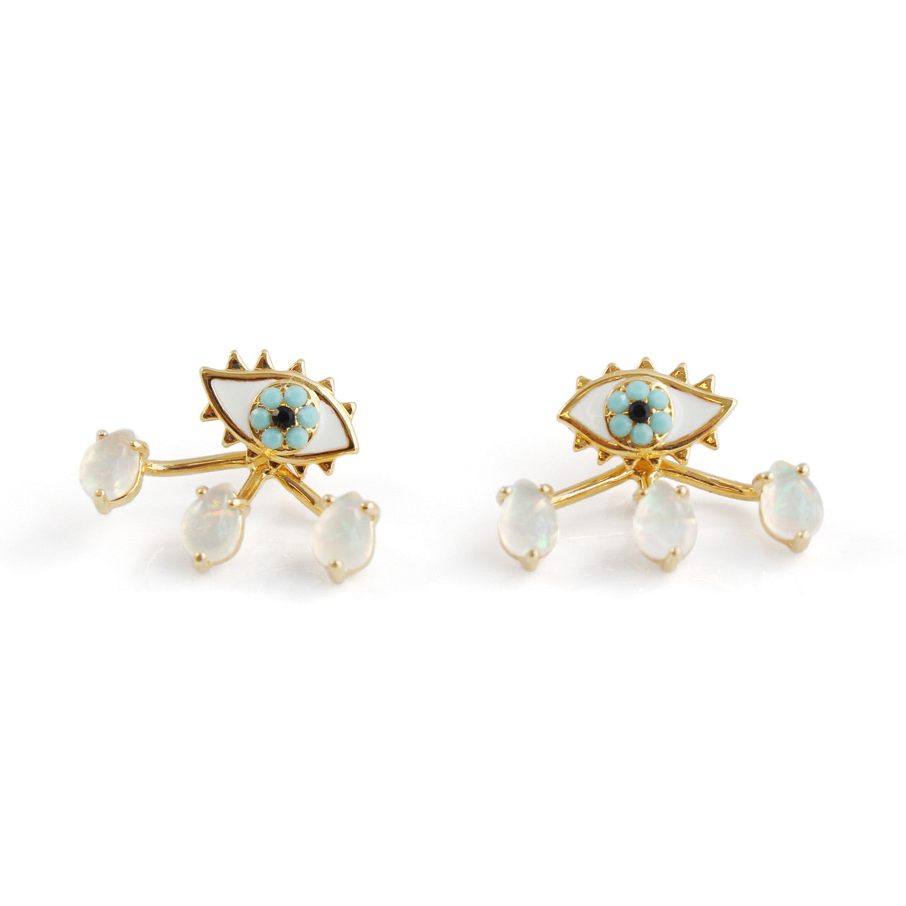 Eye Studs with Jackets