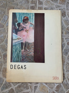 "Vintage Skira ""Degas: Masterpieces of French Painting"" Art-Book"