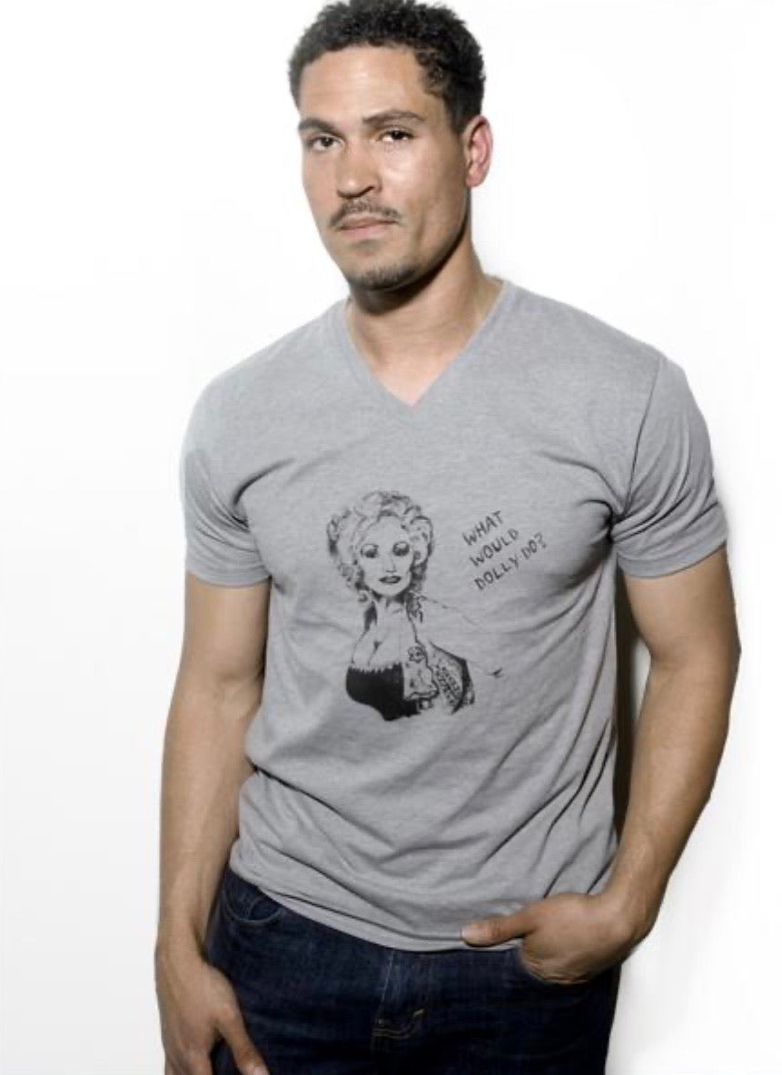 What Would Dolly Do? Unisex V Tee