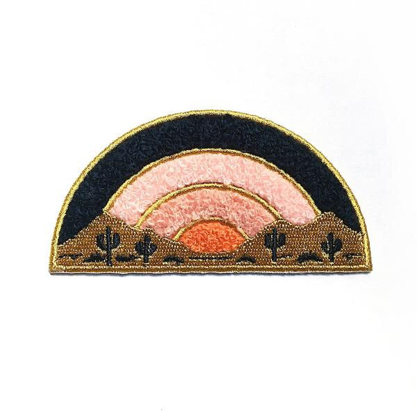Sundown Chenille Patch