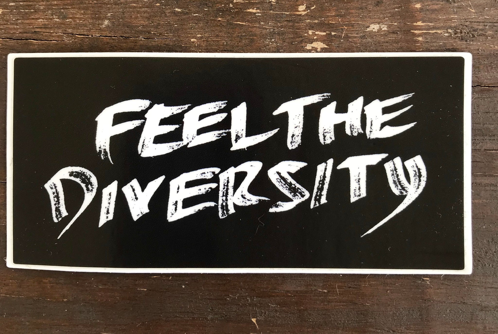 Feel The Diversity Sticker
