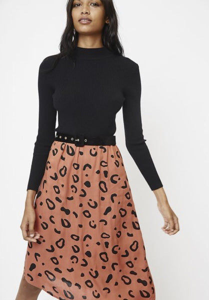 Soho Strolls Asymmetrical Skirt