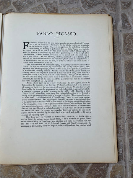 "Vintage Skira ""Picasso: Masterpieces of French Painting"" Art-Book"