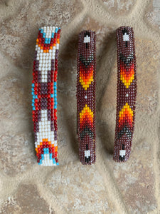 Vintage Beaded Barrettes