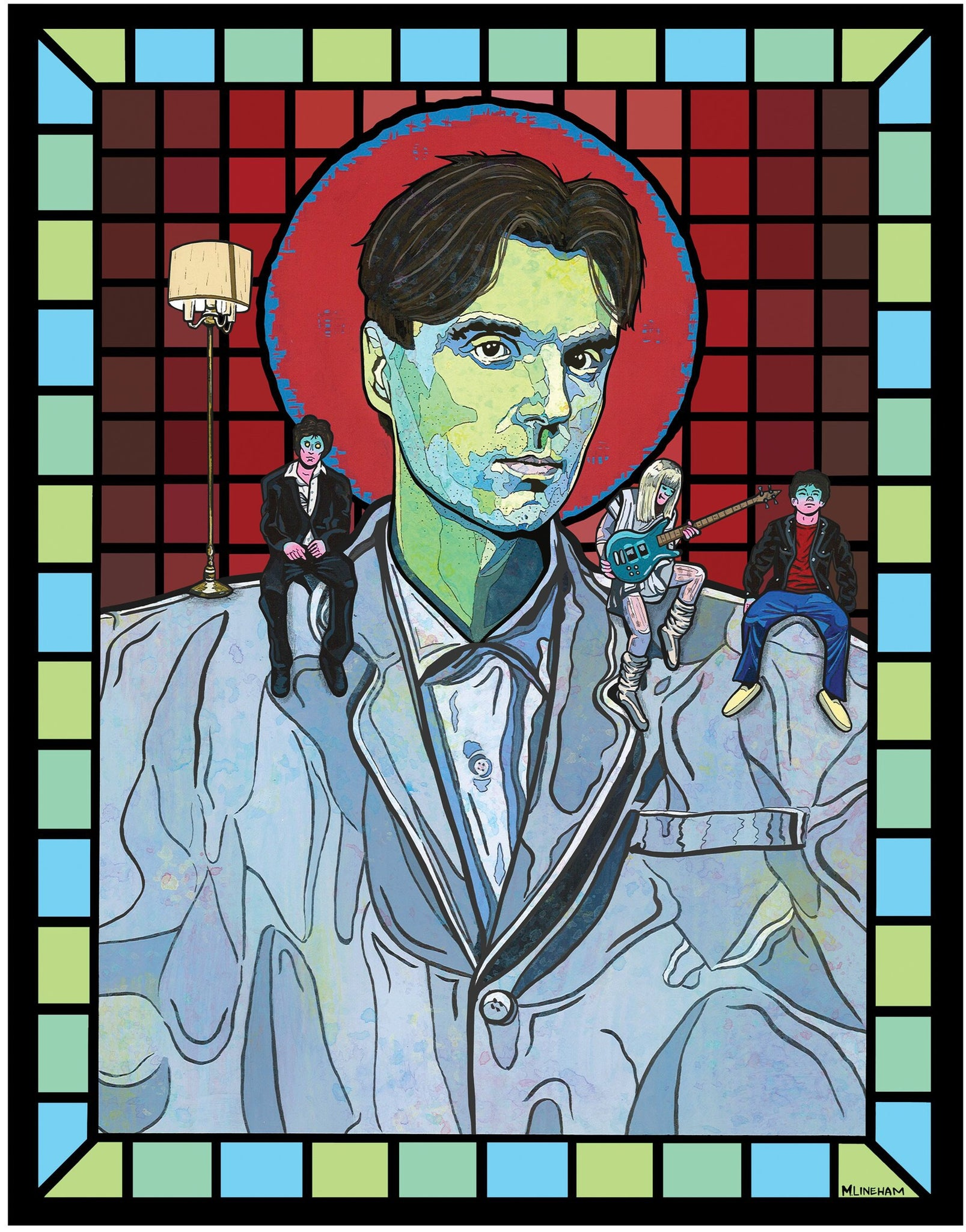 Saint David Byrne (Talking Heads)