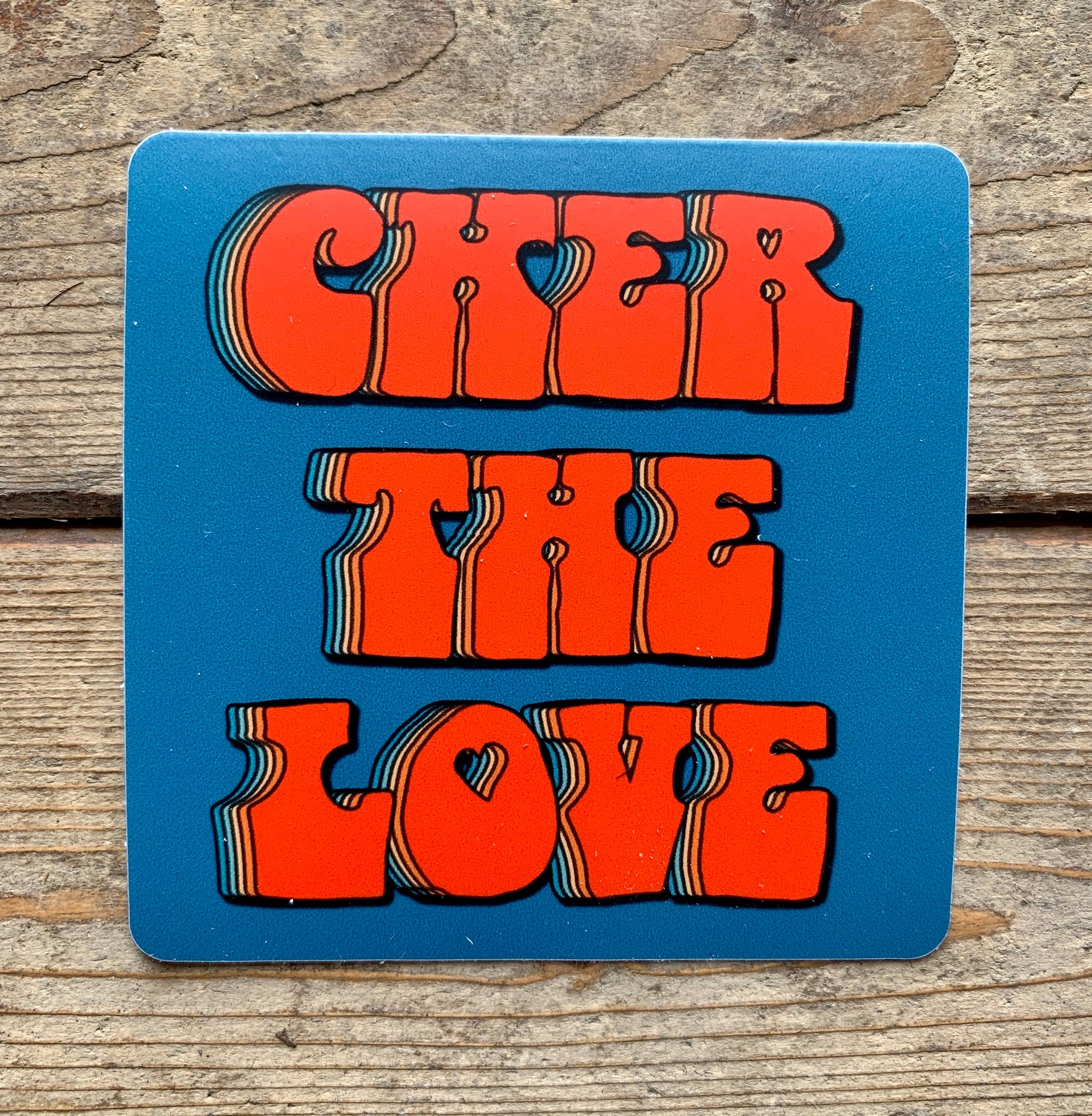 Cher The Love Stickers - Blue