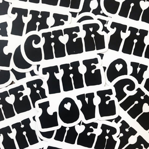 Cher The Love Stickers