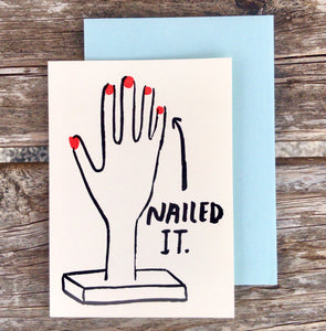 Nailed It Card
