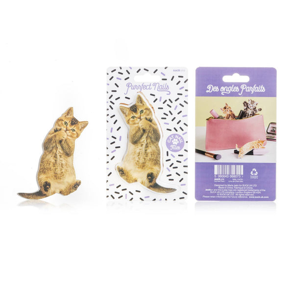Purrfect Cat-shaped Nail File