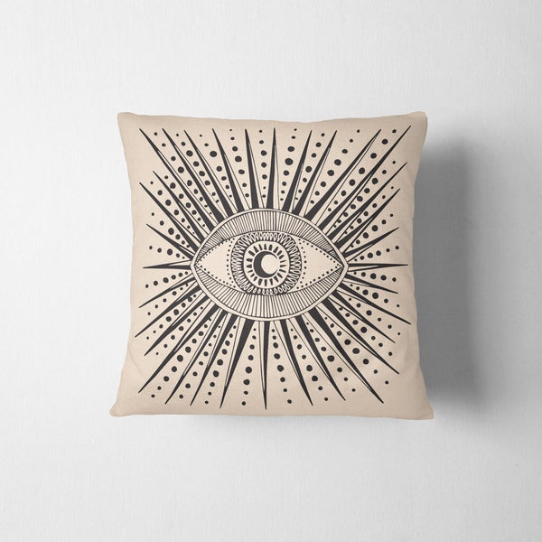 Seeing Eye Throw Pillow Cover