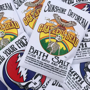 Grateful Dead ™️ Inspired Bath Salt Packets