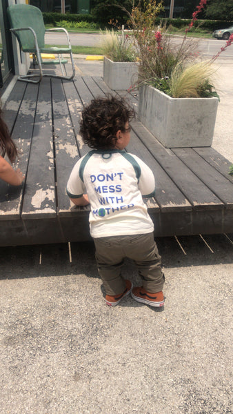 Don't Mess With Mother - Toddler's Tee