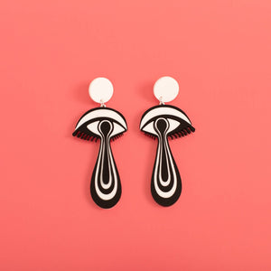 The Minds Eye Hanging Stud Earrings
