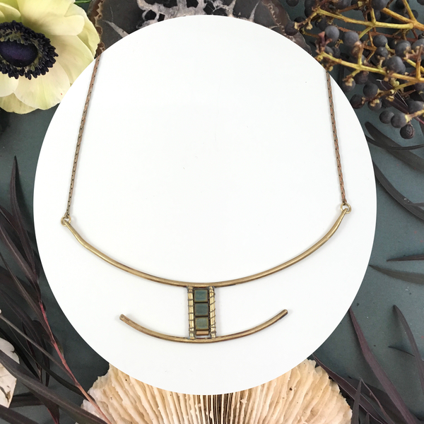 Gate Collar Necklace