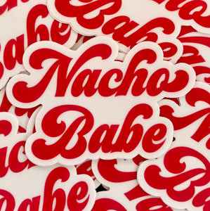 Nacho Babe Sticker