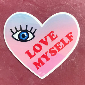 Love Myself Sticker