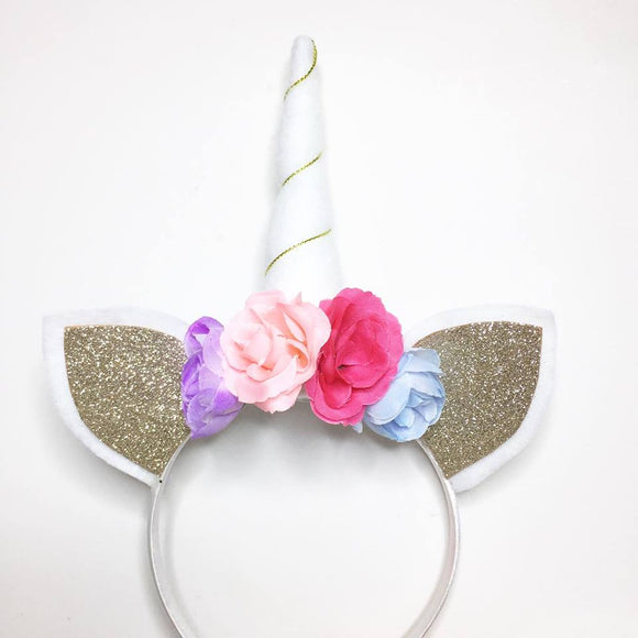 Handmade unicorn headbands