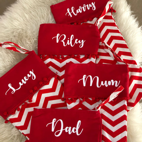 Jumbo personalised Christmas stocking
