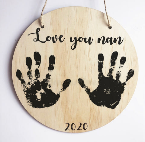 Mother's Day Handprint plaques