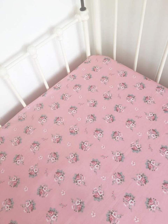 Couture Fitted Sheet in Elodie
