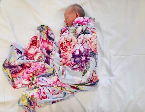 Couture Stretchy Swaddle wrap in Lulu