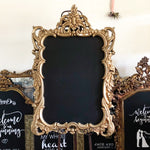 Gold Chalkboard Sign - GL5