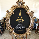 Gold Chalkboard Sign -GL10
