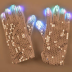 Flashing LED Sparkling Gloves