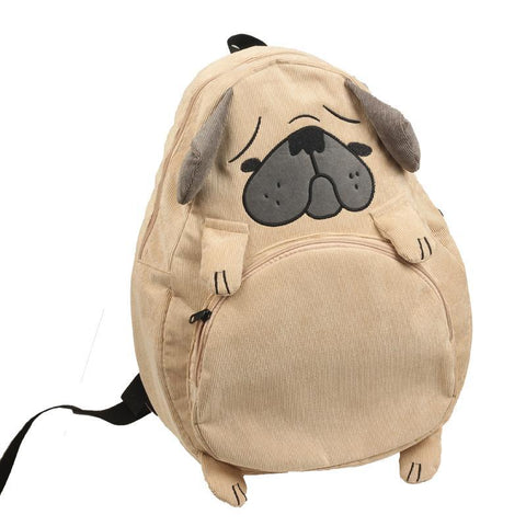 88258989d643  Affordable Online Kawaii Shop  - Cool Kawaii. Cute Pug Backpack