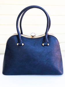 JACKIE (navy blue) with matching wallet