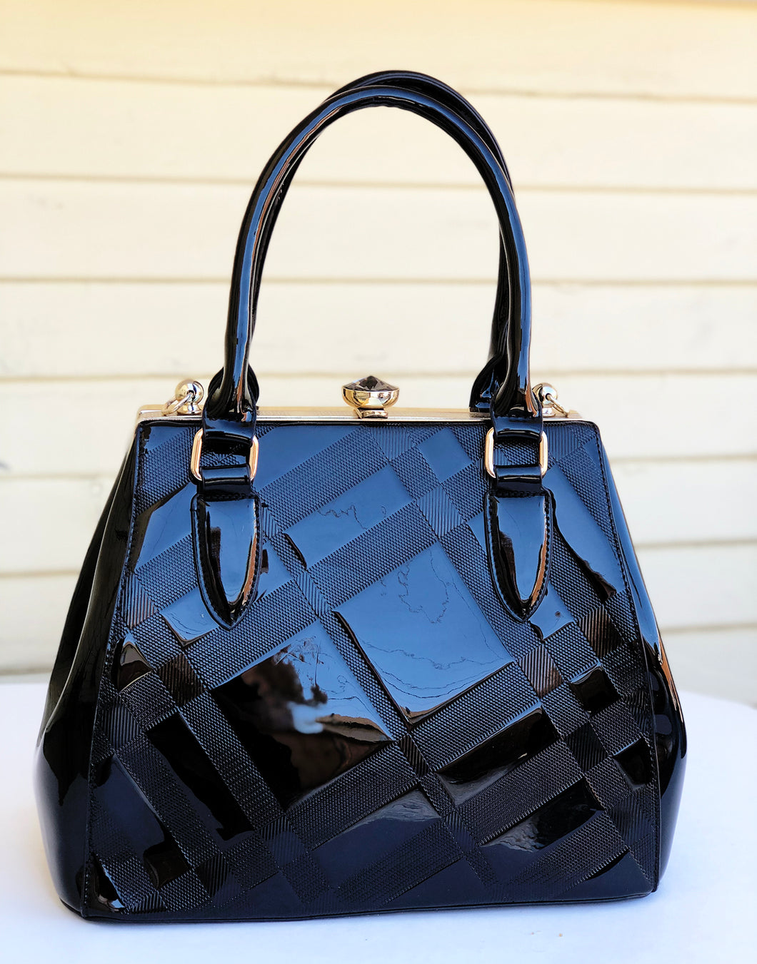 JAN fancy lady purse (black)