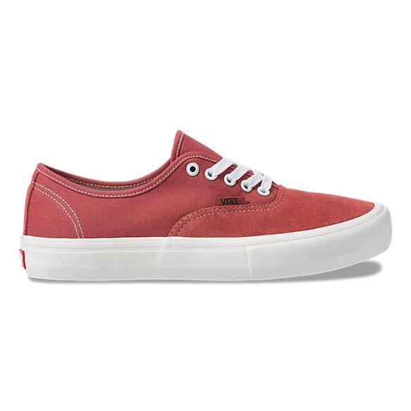 Vans mens authentic pro mineral red belmont army red WaxiStash