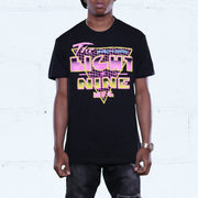 Pack Man T Shirt Black Neon