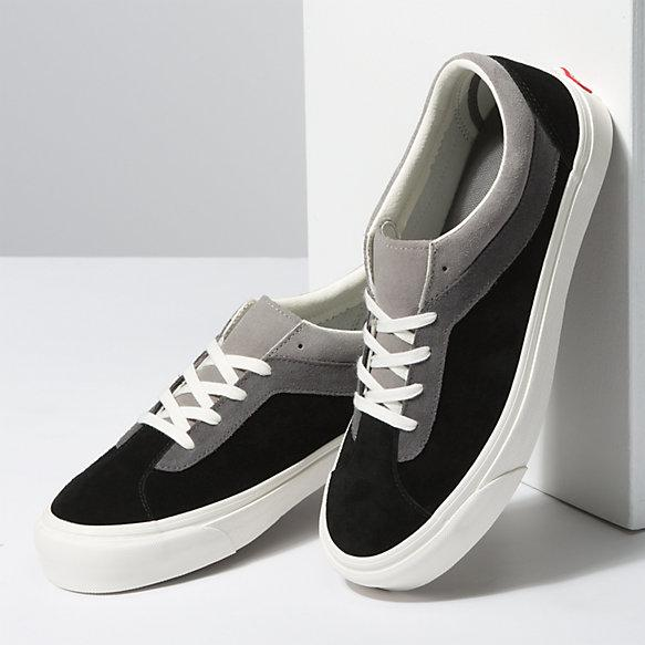 Vans mens bold ni tri tone black marshmallow sneakers black WaxiStash