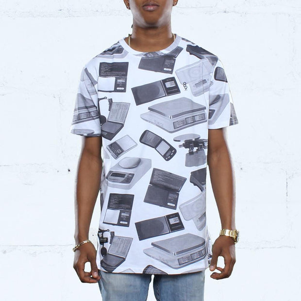 Scales Elongated T Shirt