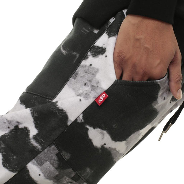 Digi Snow Camo Flight Jogger Sweatpants