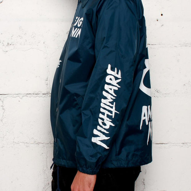 American Nightmare Coaches Jacket Navy