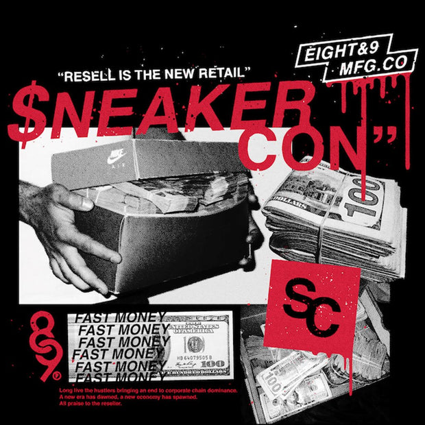 2018 Bay Area Sneaker Con T Shirt Official Release