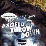 SRMS x Clean Culture So Flo Throw Down T Shirt
