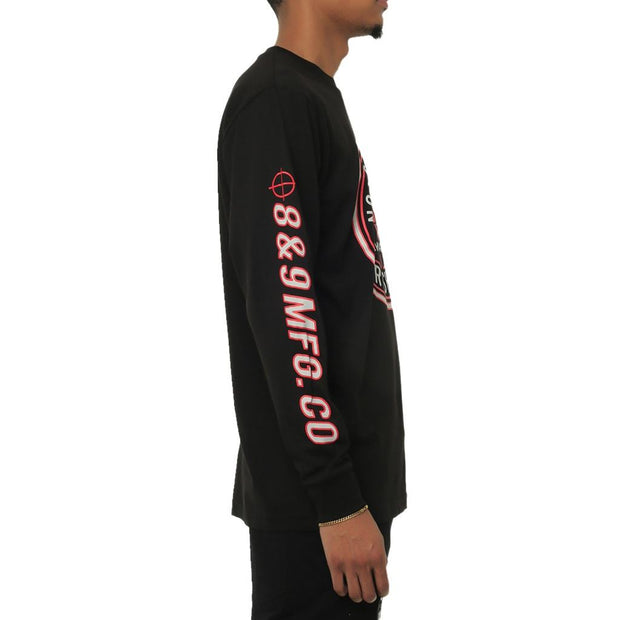 Sharpshooter Long Sleeve T Shirt Black