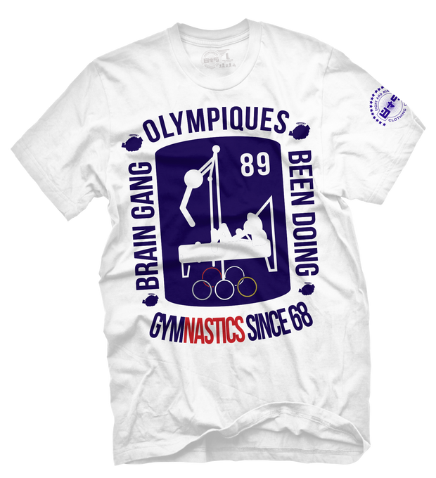 Brain Gang Olympic Royal T Shirt