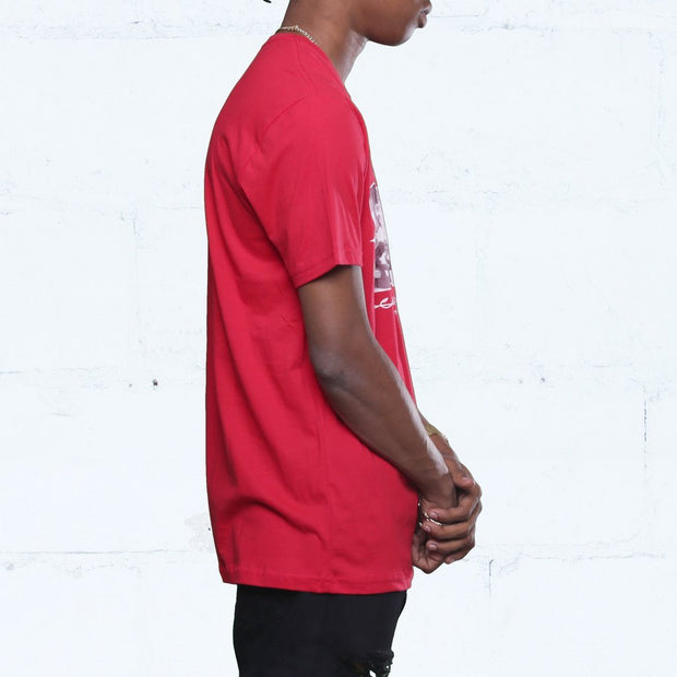 George x Diego Blow T Shirt Red