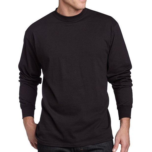 3 Pack Black Long Sleeve Tees L/S