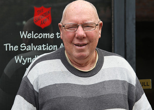 Kevin's Story | 100 Thousand Meals with The Salvation Army